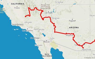 Quartzsite Arizona – Kern River California