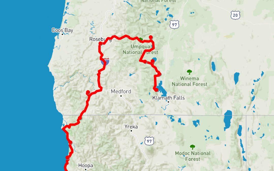 Juni: Union Landing Kalifornien – Upper Klamath Lake Oregon
