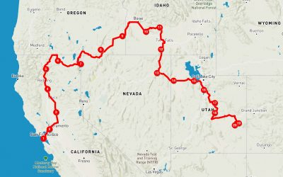 Oktober: Sawtooth Mountains Idaho – Moab Utah