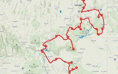 November und Dezember 2020: Von St. George Utah bis Sedona Arizona