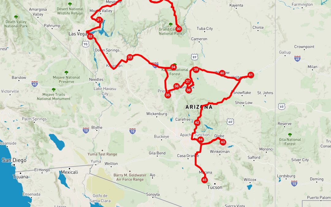 Dezember in Arizona: Sedona bis Tucson